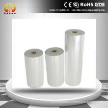 Film de polyester transparent traitement de surface à 100 micromètres pour promoteur d'adhérence