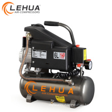 0.75kw/1hp 6L / 9L mini portable electric air compressor
