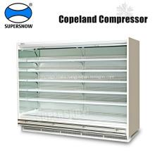 Vertical Multi Deck Open Used Supermarket Refrigeration