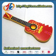 Jouet de guitare non fonctionnel en plastique coloré pour enfants