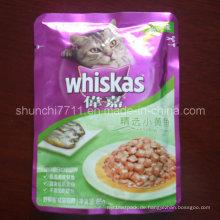 Frische Katzenfutter Verpackungsbeutel