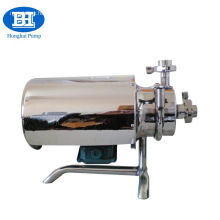 Sanitary stainless steel centrifugal pump for milk