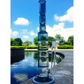 Wholesale Hot Simple Honeycomb 3 Layers Percolator Water Glass Pipe