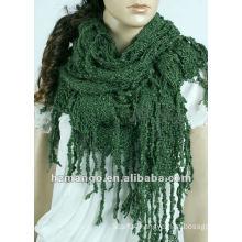 Latest fashion 2016 lady winter big size Knitted Wrap Shawls