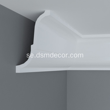 Polyuretan Plain Crown Mouldings