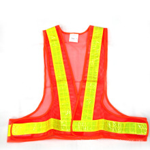 Triangle Reflective Safety Vest (Orange) .