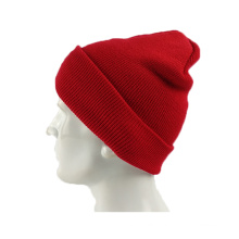 Solid color keep warmer hat Custom Knitted Pom Cheap Beanie Hat