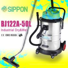 Сверхмощная и большая емкость 50 литров промышленного пылесоса с внешней розеткой