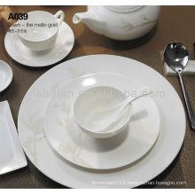 A046 opal porcelain italian brand names of dinner sets