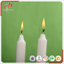 Wholesale bright white plain candle