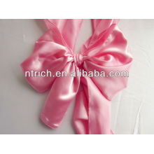Satin chair sash, chair ties, wraps for wedding banquet hotel
