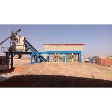 35m3/h mobile concrete batching plant