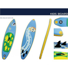 New Style Small Surf Boarf with Fish Pattern for Children to Play on The Water