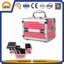 Tocador de maquillaje de cocodrilo de PVC de moda (HB-2018)