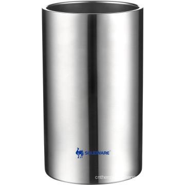 Refrigerador de parede dupla de aço inoxidável de alta qualidade