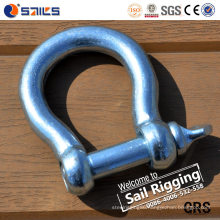 European Style Large Hot Forged Bow Shackle