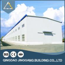 Entrepôt de structure en acier léger préfabriqué