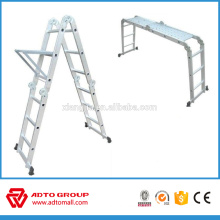 EN131 multi-purpose aluminum ladder,multi task ladder, multi function ladder