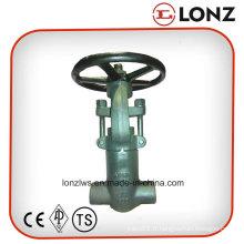 ANSI A105n Socket Weld Pressure Seal Vanne de porte en acier forgé