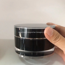 100ml Black And Gold Red Mens Cosmetic Jar