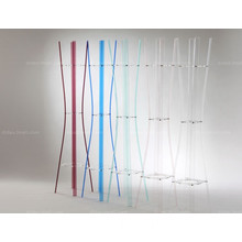 Transparent Acrylic Clothes Rack with Modern Style