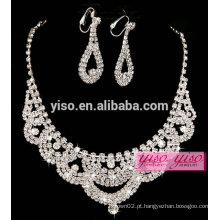 Colar de diamantes de venda quente com modelos nupciais