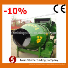 China JZC350A automatic feeding system mobile concrete with pump