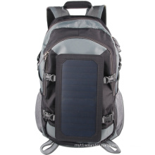 6.5W Sunpower high efficiency Waterproof solar Mountaineering hiking backpack