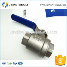 JKTL2B041 rb cf8m 1000wog 2 piezas gas pn40 de hierro fundido teflon válvula de bola