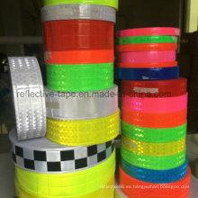 Cinta reflexiva del PVC prismáticos Micro resistente al frío