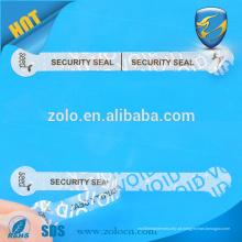 Etiqueta de segurança personalizada ZOLO, etiqueta de corte de moldes