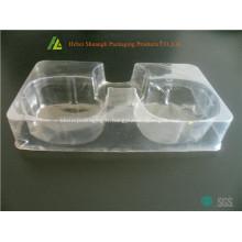 Vide formant l'emballage cosmétique en plastique de PVC