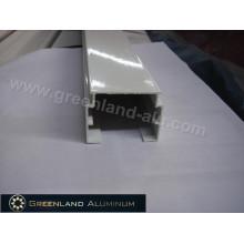Rail en aluminium pour stores verticaux absolus