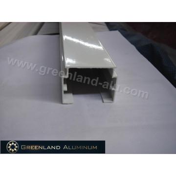 Riel de aluminio para persianas verticales absolutas