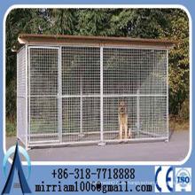 Revestimiento en polvo Heavy Duty Dog Cage / perrera / perrera con cubierta