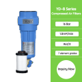 Compressed air filter system for air dryer