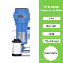 Система фильтрации сжатого воздуха для осушителя воздуха