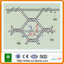 Malla de alambre caja de gavión / caja de malla hexagonal