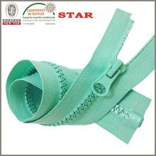 Zipper plástico para el bolso de las mujeres