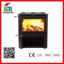 High quality cold rolled steel indoor wood burning stove sale