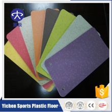 Piso de plástico comercial protetor de escritório pvc tapete