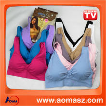 China wholesale new seamless genie bra with pads as seen on tv