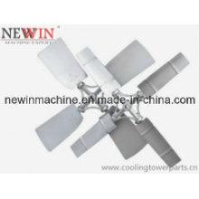 ABS ou ventilador de alumínio para torres de resfriamento