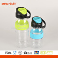 2016 Single Wall Plastic Sports Water Bottle BPA Free