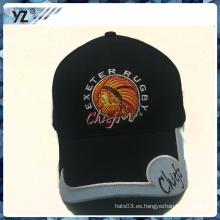 2015 nueva gorra de béisbol de encargo del estilo con el remiendo