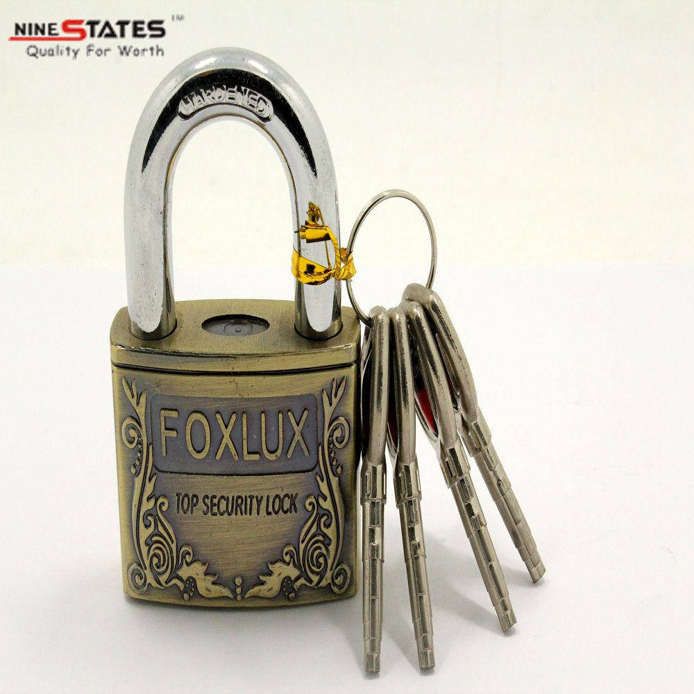 50MM Antique Brass Coating Padlock