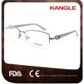 2015 china wholesale women metal flexible eyeglasses frame