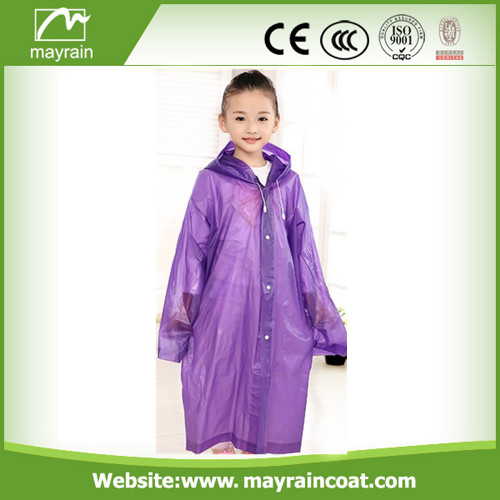 Kid PE Raincoat with Hood