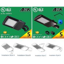 Free Shipping UL cUL Dlc Aok LED Shoe Box Light