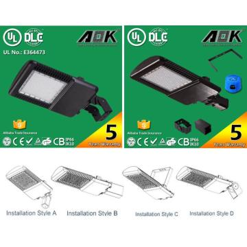 UL cUL Dlc Approved 130lm/W LED Parking Lot, LED Area Light